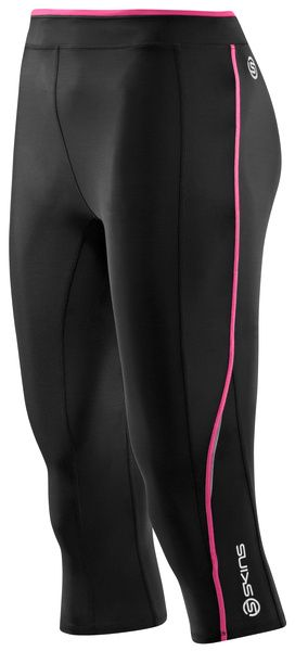 SKINS A200 Womens 3/4 Tights - Pink