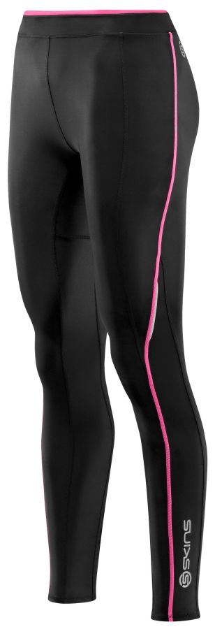 SKINS A200 Womens Long Tights - Pink