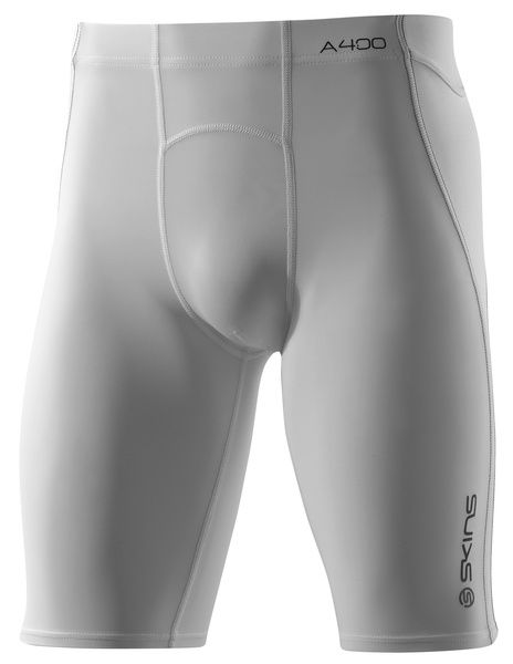 A400 Mens Half Tights - White