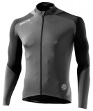 SKINS C400 Mens Long Sleeve Jersey - Black/Grey