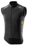 SKINS Cycle C400 Mens Thermal Vest, Black/Graphite
