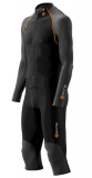 SKINS S400 Mens Thermal All in One Suit - Black/Orange