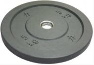 Bumper plate kotouč, Riot, 5 kg, šedý
