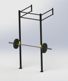 Crossfitová klec, WALL MOUNT 2, Bear Foot