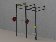 Crossfitová klec, WALL MOUNT 3, Bear Foot