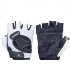 Dámské fitness rukavice 139, bílé, Harbinger, L