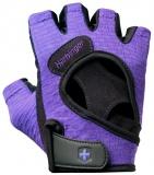Fitness rukavice, 139, fialové, Harbinger, L
