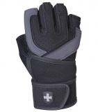 Fitness Rukavice Harbinger 1250, černo-šedé