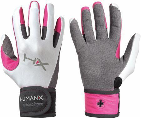 Harbinger dámské rukavice na crossfit s omotávkou, růžové, L