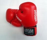 Katsudo Boxerské rukavice Champ, červené, 16 oz