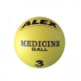 Medicineball 3 kg, Alex
