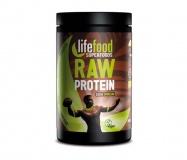 LifeFood, Raw proteinová směs se superfoods - kakaová se spirulinou, 450g