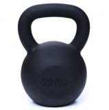 Kettlebell, 28 kg, matný