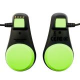 Vodotěsný mp3 přehrávač FINIS Duo - Black/Green