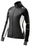 SKINS PLUS Aura Womens Run Puffer - Black/Cloud