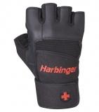 "Fitness rukavice, 140 PRO wrist wrap, Harbinger, ""S"""