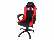 SANDBERG Warrior židle - černočervená