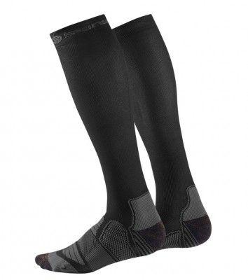 Podkolenky SKINS Essentials Compression Socks - Black