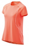 SKINS PLUS Phoenix Womens Fitted Tee - Atomic Tangerine