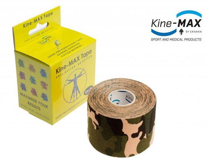 KineMAX SuperPro Cotton Tape - camo, 5cmx5m