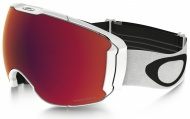 OAKLEY Airbrake XL Polished White W/Prizm Torch & Prizm Rose
