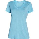 Dámské Sportovní Tričko Under Armour s Výstřihem do V Světle Modré, S