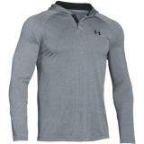 Pánské tričko UA Popover Henley šedé, XL