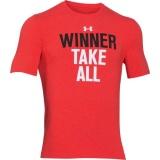 Pánské tričko Under Armour Winner Take All oranžové, XL