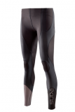 SKINS K-Proprium Womens Compression Long Tights - Espresso