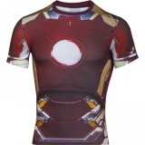 Under Armour Pánské Kompresní Tričko Under Armour Iron Man, L