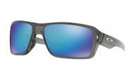 OAKLEY Double Edge - Grey Smoke W/Prizm Sapphire Polarized