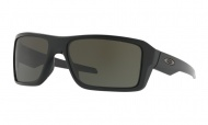 OAKLEY Double Edge - Matte Black W/Dark Grey