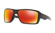 OAKLEY Double Edge - Matte Black W/Prizm Ruby Polarized