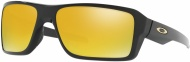 OAKLEY Double Edge - Polished Black W/24K Iridium