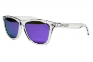 OAKLEY Frogskins - Polished Clear/Violet Iridium