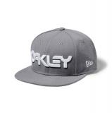 OAKLEY Mark II Novelty New Era Snap Back, Grey