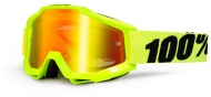 100% Accuri - Fluo Yellow/Mirror Red/Clear