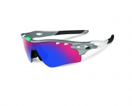 OAKLEY Radarlock - Fog W/Positive Red Iridium & Black Iridium
