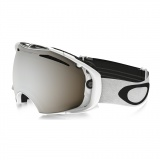 OAKLEY Airbrake Polished White W/Black Iridium & Persimmon