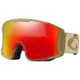 OAKLEY LineMiner Carlson Razor Camo Red W/Prizm Snow Torch Iridium