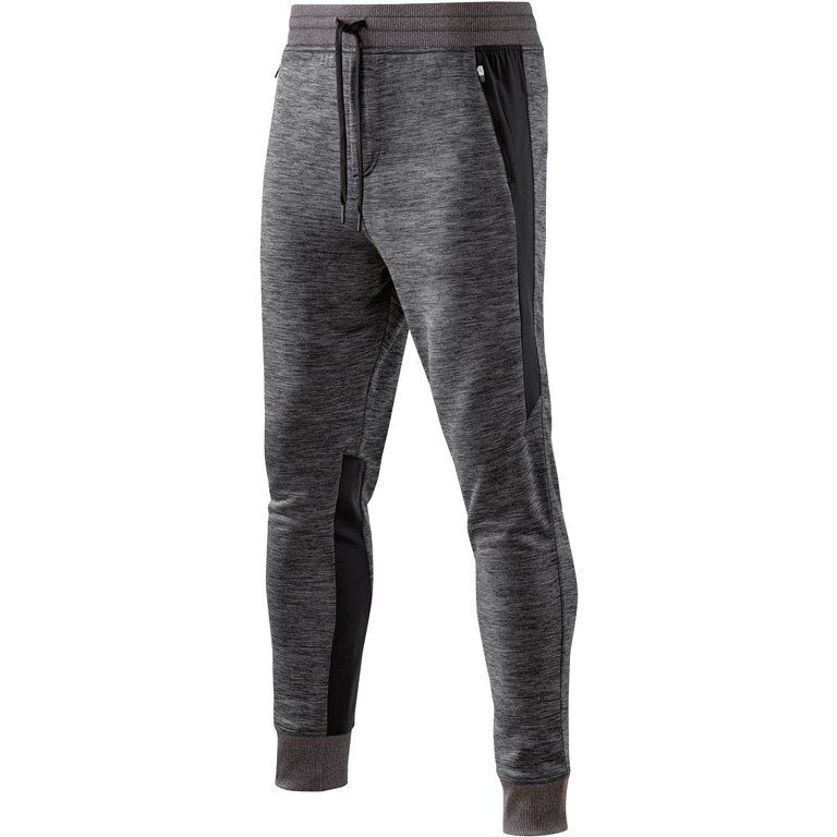 Kalhoty SKINS PLUS Activewear Binary Tech Fleece Pant - Black/Marle