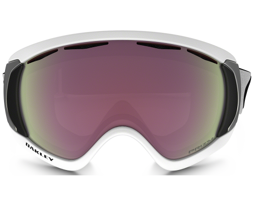 Lyžařské brýle Oakley Canopy Matte White Prizm Hi Pink Iridium