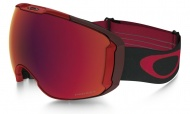 OAKLEY Airbrake XL Obsessed Line Red W/Prizm Torch & Prizm Rose
