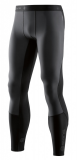 SKINS DNAmic Thermal Windproof Mens Long Tights, Black