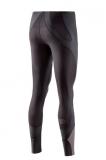SKINS K-Proprium Womens Compression Long Tights - Espresso (dámské kompresní dlouhé kalhoty SKINS)