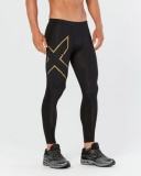 2XU Elite MCS Cross training kompresní legíny pánské, Black/Gold