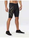 2XU Elite MCS kompresní šortky pánské, Black/Gold