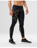 2XU Elite MCS Run kompresní legíny, Black/Gold