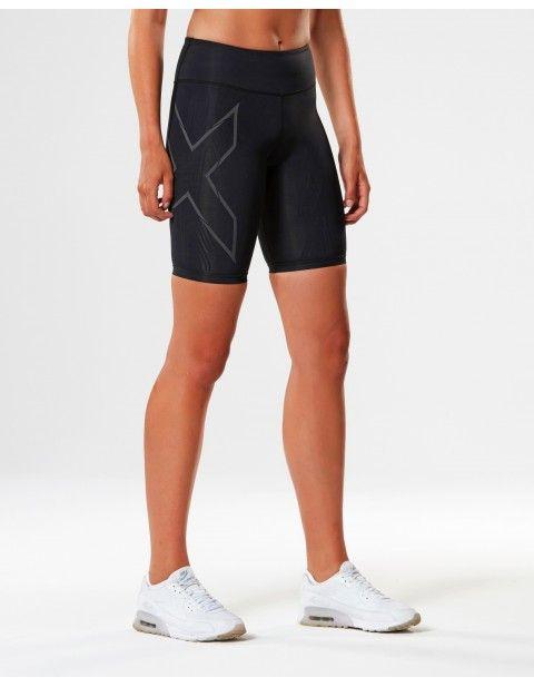 2XU Elite MCS Run kompresní šortky dámské, Black/Nero
