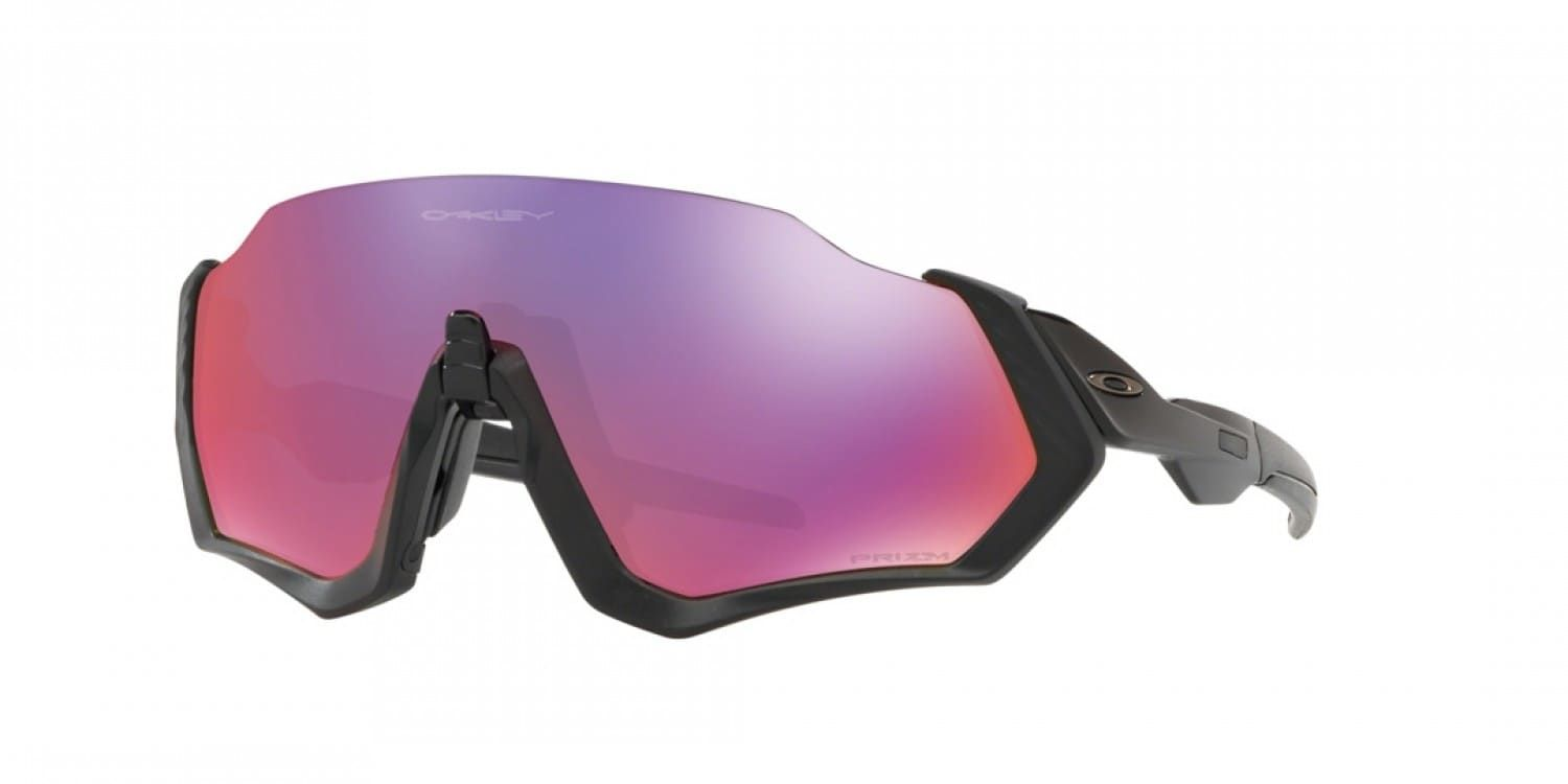 Brýle OAKLEY Flight Jacket - Matte Black W/Prizm Road